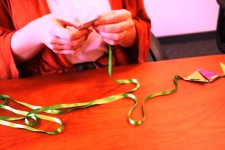 украшения на елку из бумаги (3)