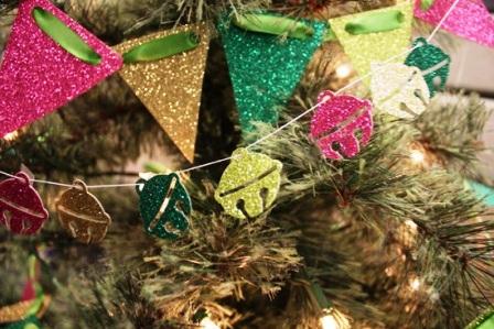 украшения на елку из бумаги (4)
