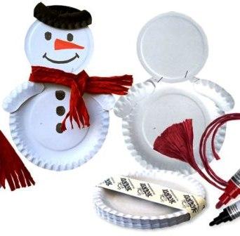 Поделки из бумажных тарелок (3)