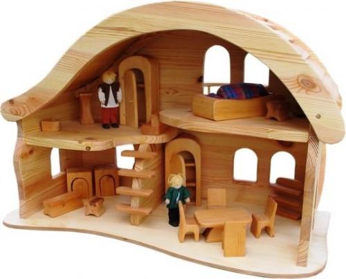 Деревянные домики для детей (3)