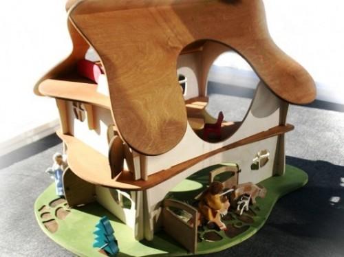Деревянные домики для детей (6)