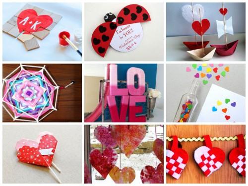 лучшие поделки на День Святого Валентина