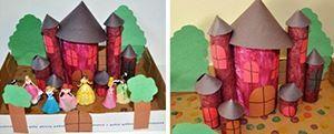Замок из картона своими руками (4)