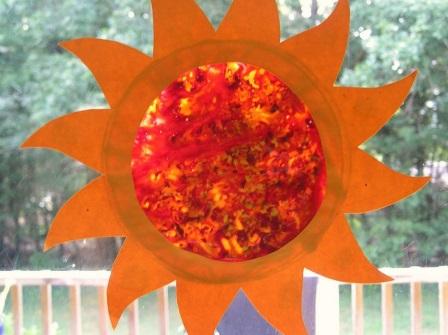 поделка солнышко (7)