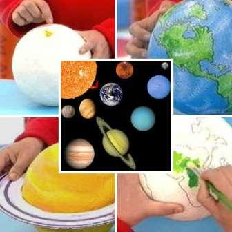 Поделки на тему Космос (4)