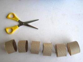 Поделка гусеница из бумаги (2)