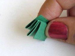Поделка гусеница из бумаги (5)