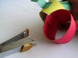 Поделка гусеница из бумаги (6)