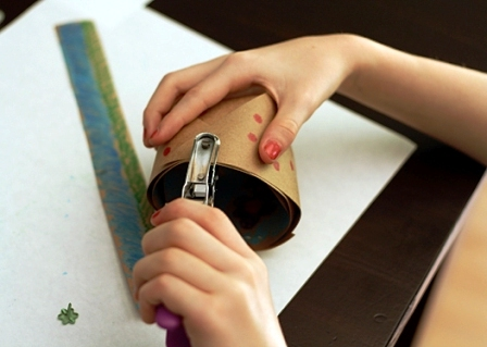 Бумажная корзина своими руками (5)