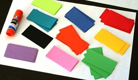 Как склеить куб из бумаги (1)
