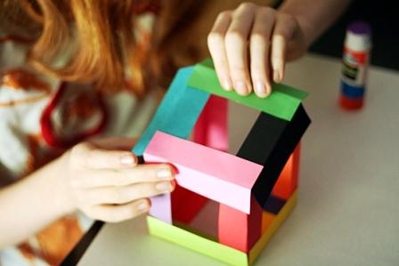 Как склеить куб из бумаги (6)