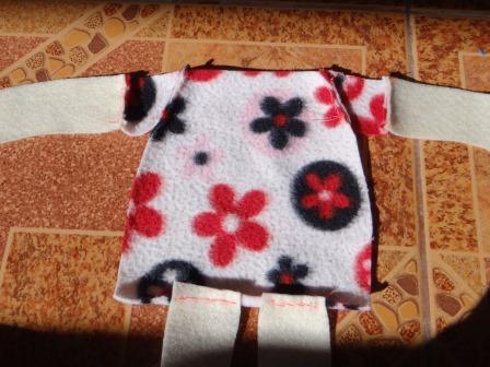 Кукла из ткани своими руками (8)