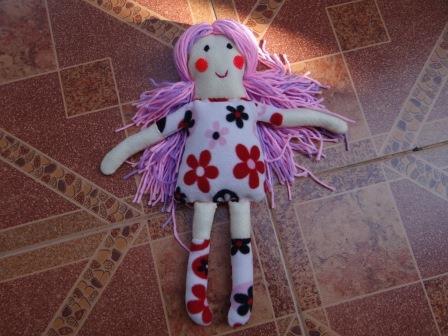 Как сшить из ткани куклу своими руками