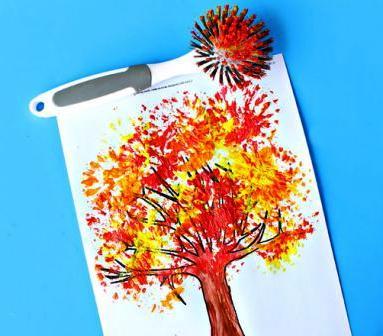 Детский рисунок на тему осень (7)