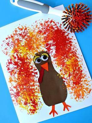 Детский рисунок на тему осень (6)
