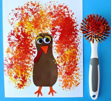 Детский рисунок на тему осень (4)