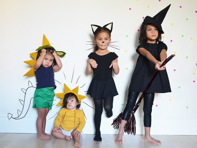 Хэллоуин костюмы своими руками детям