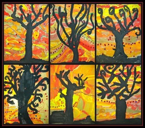 Осенние поделки в школу (7)