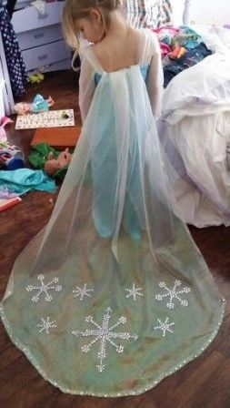 Новогодний костюм своими руками снежинки фото 21