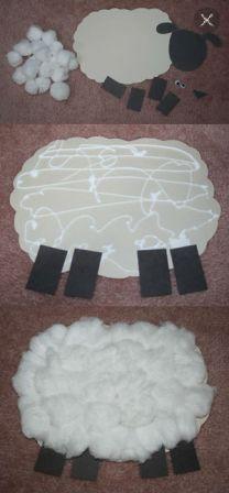 Поделка овечка к Новому году (4)