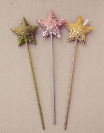 Как сделать волшебную палочку из бумаги для детей