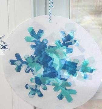 Красивые снежинки для детей (3)