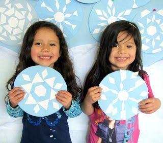 Красивые снежинки для детей (7)