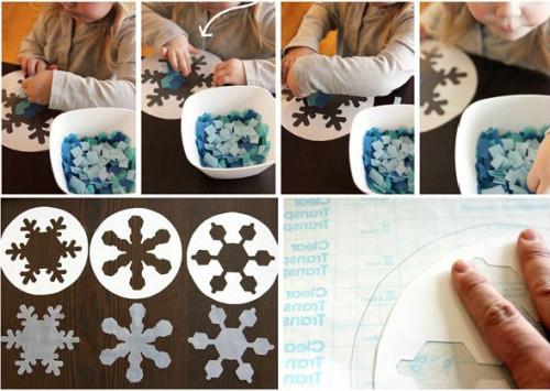 Красивые снежинки для детей (1)