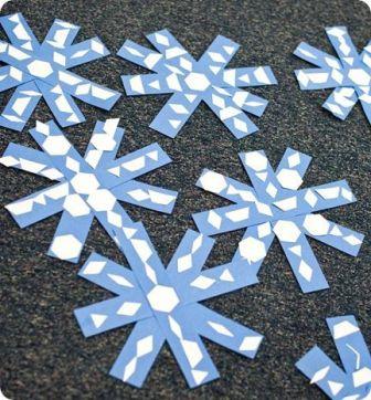 Красивые снежинки для детей (6)