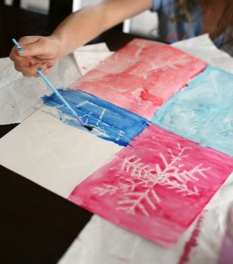 Как нарисовать снежинку (3)