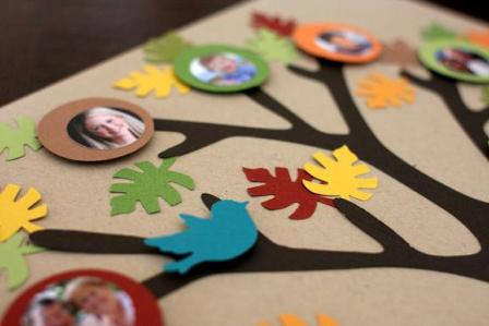Семейное древо своими руками фото 72