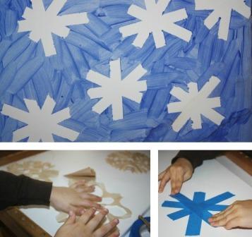 Как нарисовать снежинку (1)