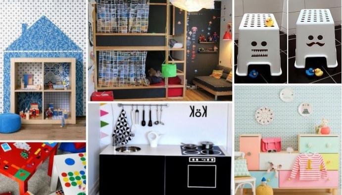 7 гениальных идей оформления детской с мебелью ИКЕА