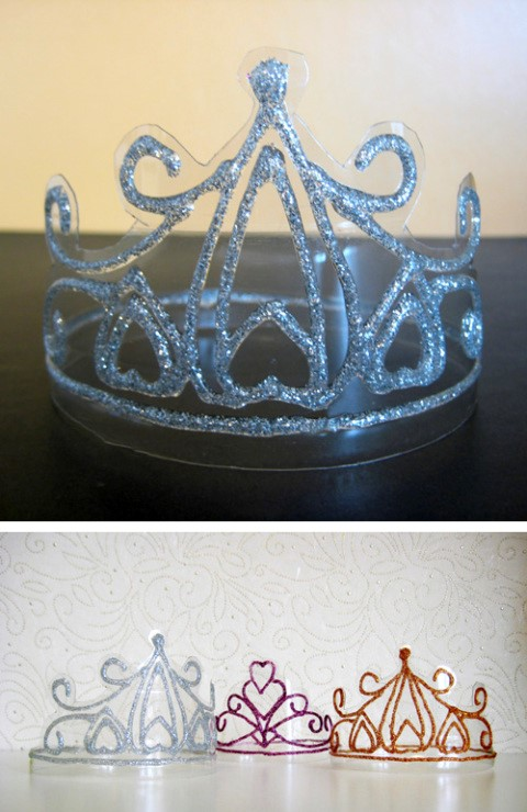 Корона на новый год из бумаги