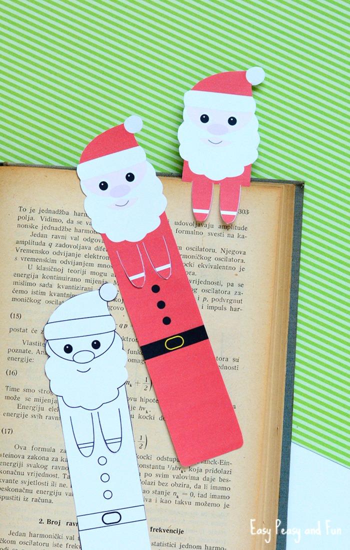 Как сделать новогоднюю закладку для книги