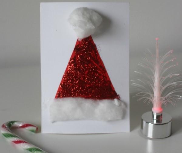 3 рождественские открытки в школу, которые можно сделать за 5 минут