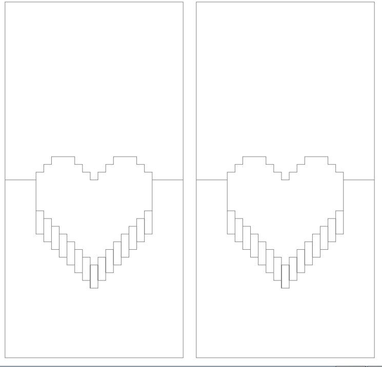 Осени, шаблоны поп-ап открыток