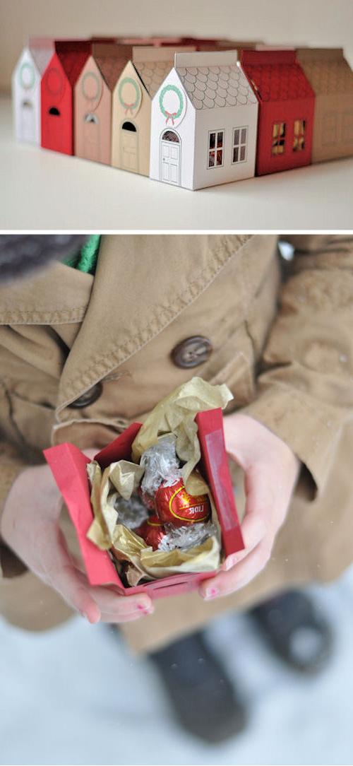 Идеальный подарок: конфеты в подарочной коробке – домике