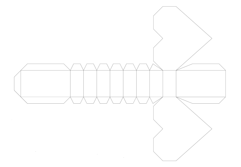 Схема объемное сердечко из бумаги своими руками
